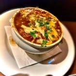 【ランチ】オニオン グラタンスープ