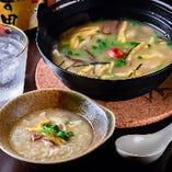 鹿児島の郷土料理、鶏飯もぜひご賞味ください。