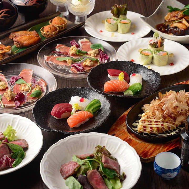 迷ったときの定番コース!人気メニューが一通り揃う『武遊田のおすすめコース』 宴会 会食