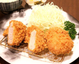 ヒレ&メンチかつ定食