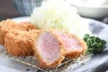 ハーブ三元豚 ヒレかつ定食 120g