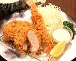 海老ミックスフライ定食