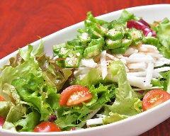 オクラと長芋の疲労回復サラダ