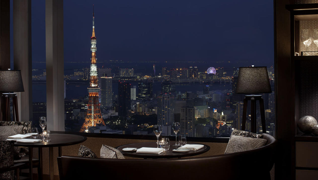 ◆45階から望む東京の街を一望