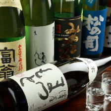 豊富な日本酒でおもてなし