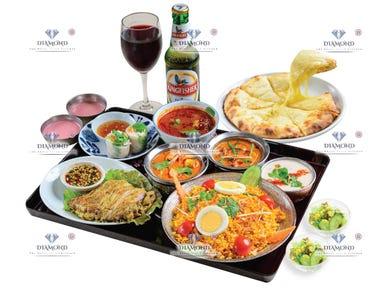 ロイヤル アジアンキッチン ダイヤモンド 聖路加ガーデン店 コースの画像