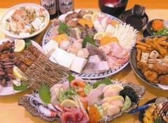 デザート付!全7品♪選べる!鍋宴会コース1780円(忘年会、宴会、下見、飲み会に!!)