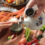 接待にふさわしい特別な日本酒もございます