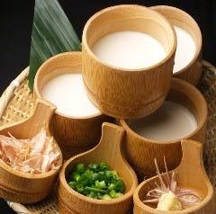 チーズ風味の自家製豆腐