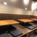 テーブル席【4名卓×3卓】