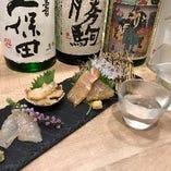 富山名物昆布〆盛り合わせ