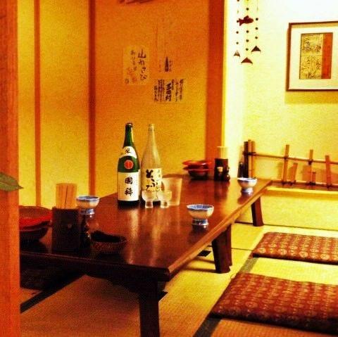 座敷の完全個室を完備