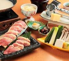 飛鳥鍋膳(大和肉鶏)