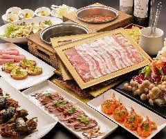 豚しゃぶ×肉料理 むすび