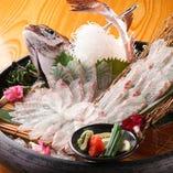 釣った魚をそのまま調理するので鮮度バツグン、美味です!
