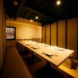 ★個室2名様~最大60名様まで◎ 光と影の美空間個室でゆったりガールズトークをお楽しみください。