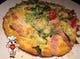 とろけたモッツァレラチーズとたっぷり野菜のフリッタータ