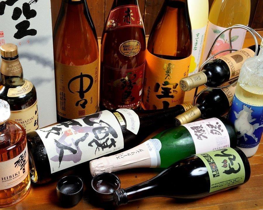 店長厳選の【日本酒】を楽しむ