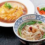 天津丼+ミニラーメン