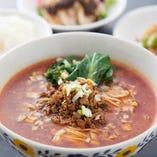 酸辣湯麺+ライス