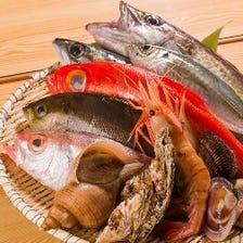 厳選◆旬の魚介を目利き