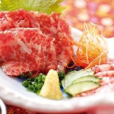 熊本郷土料理・馬刺し
