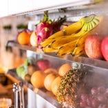旬なフルーツを季節に合わせてご提供【神奈川県】