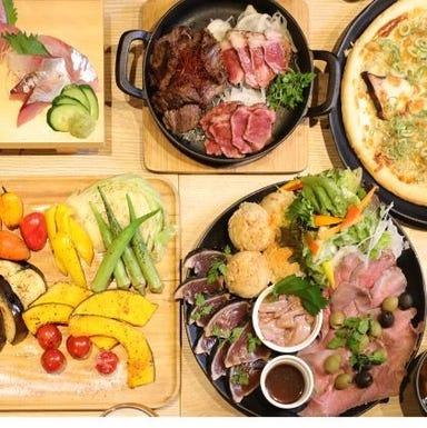 ITADAKIMASU FOOD HALL なんばスカイオ コースの画像