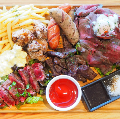 ITADAKIMASU FOOD HALL なんばスカイオ メニューの画像