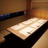 中2階の個室は他の部屋から隔離されたプライベート空間