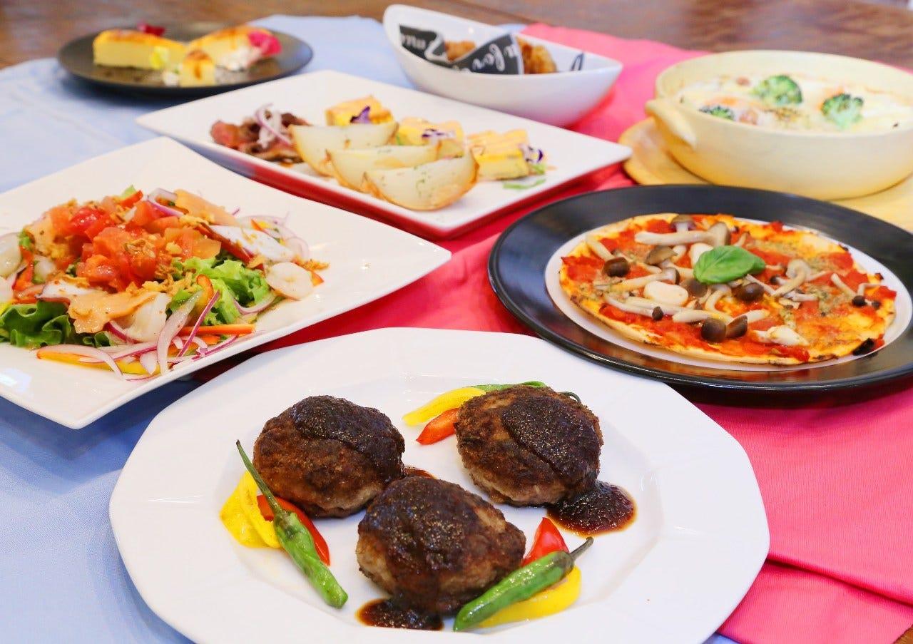 お肉に野菜にバリエーション豊富なパーティーコース♪