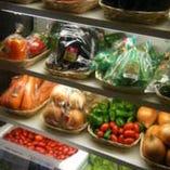 「新鮮なおいしいお野菜」