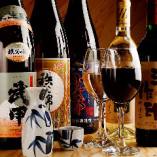 ホルモンに合うワイン、ウイスキー、地酒まで秩父の銘酒が勢揃い