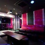 ステージルーム&多彩な個室