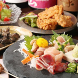 ◆コース◆ バリエーション豊かな鶏料理をご堪能いただけます。