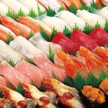 お持ち帰り寿司もご用意しています!