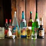 【豊富なドリンク】 料理と相性抜群のお酒を取り揃えております