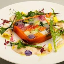50種の季節野菜と穀物のテリーヌ