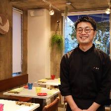 熊本食材はじめ日本の季節感を一皿に