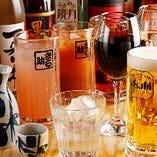 秩父の地酒やオリジナルカクテルなど、ドリンクも種類豊富!