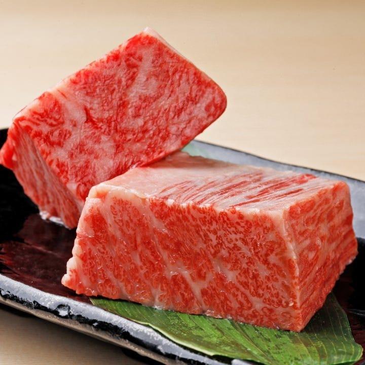 状態の良いお肉を選び抜いた焼肉