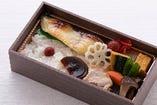 焼魚弁当(銀鱈粕漬け)