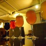季節に合わせたクラフトビールをラインナップしております!