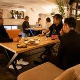 【2階ワンフロア個室】ワイワイ楽しめる★ワンフロア貸切で個室利用可能!