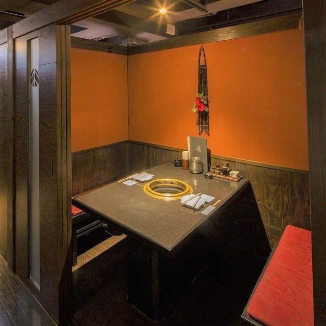 落ち着いた雰囲気の上質個室を用意