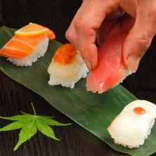 職人が握る本格寿司を食べ放題に!!