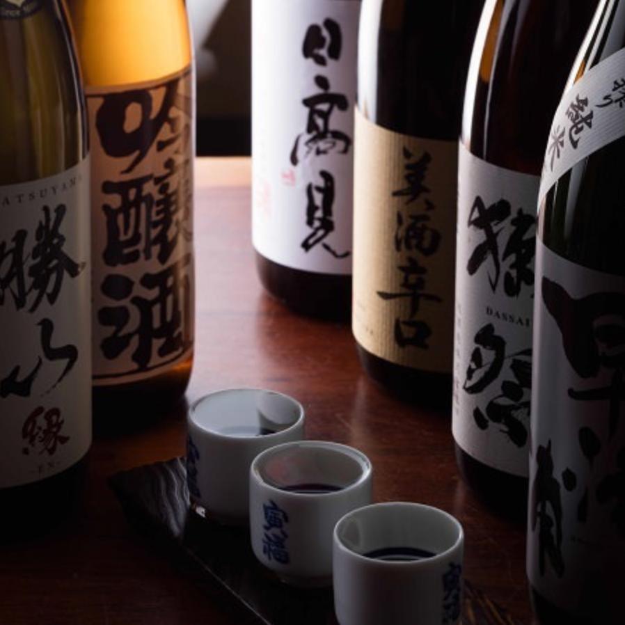 【唎酒師厳選】本格日本酒、焼酎◎