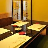お顔合わせやご接待等で一番ご案内したい特別室。