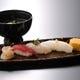 ご接待一番人気 11000コースの〆はお寿司で!