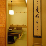 """常連さんがお気に入りの""""隠れ家的""""な特別室。"""